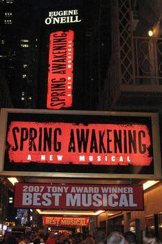 Spring Awakening Marquee
