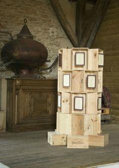 Mariage thème vin vigne caisse plan de table vignoble tour