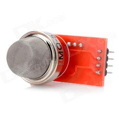 MQ5 High Sensitivity Flammable Gas Detector Sensor - Red + Silver. Model MQ5 Quantity 1 Color Red + silver Material PCB board Features Adjustable sensitivity Specification Input voltage: 5 +/- 0.2V; DOUT: Digital signal output; LED lights on when detected gas; AOUT: analog signal output, the output is the analog value of detected voltage; GND: Power supply negative pole; Application Suitable for home / industry flammable gas detection using Packing List 1 x Gas detector module. Tags…