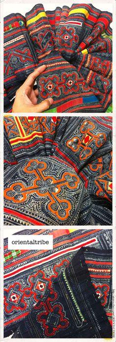 hmong batik cloth
