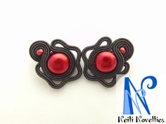 Spanish soutache earrings