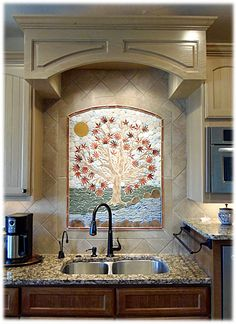 1000 images about budget kitchen backsplash ideas on for Kitchen ideas no window