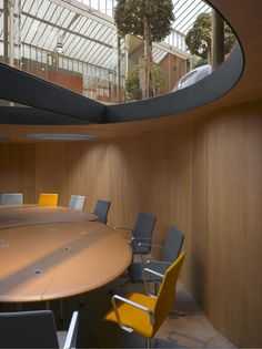 Pons and Huot office by Christian Pottgiesser, Paris, France.