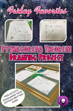 Friday Favorites: Pythagorean Theorem Drawing Activity