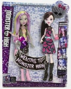 Moanica and Draculaura 2 Pack - Welcome to Monster High Dolls PRE-ORDER