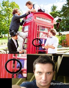 Paul is always watching.. lol you could say he's paulways there ;)<<< haha