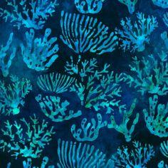 Kaufman Artisan Batiks OCEAN FAT QUARTER Bundle 2 by NauvooQuiltCo