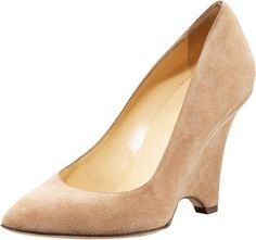 ShopStyle: Kate Spade Deb Suede Covered-Wedge Pump