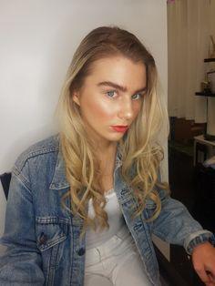 Photoshoot Time ♡  Glowy Skin + Bright Lips  Josie Orchard