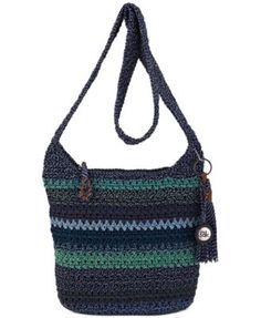 We've updated our best selling casual classics crossbody and you'll love it! Soft and casual, the crossbody features The Sak signature crochet weave in new colors and stripes. Crochet Shoulder Bags, White Shoulder Bags, Shoulder Strap Bag, Crossbody Shoulder Bag, Crossbody Bag, The Sak Handbags, Shoulder Handbags, Cross Body Handbags, Coin Bag