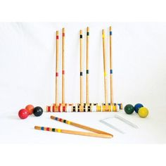Triumph Sports USA Beginner 6-Player Croquet Set
