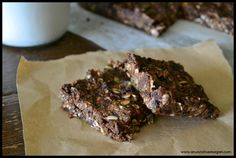 Raw Double Chocolate Mint Bars | One Green Planet