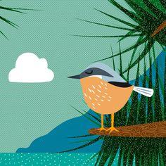 Décoration illustration en édition limitée par annelisepucci, €35.00