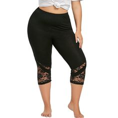Maternity Fashion - dressy maternity leggings : Owill Fashion Women Lace Plus Size Skinny Pants Yoga Sport Pants Leggings Trousers Black >>> You can figure out more details at the link of the image. (This is an affiliate link). Capri Leggings, Lace Leggings, Lace Pants, Plus Size Leggings, Sports Leggings, Printed Leggings, Workout Leggings, Leggings Store, Cheap Leggings