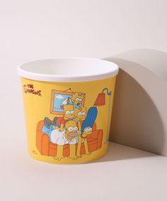 Balde-de-Pipoca-Os-Simpsons-Amarelo-9973760-Amarelo_1 Geek Stuff, Mugs, Tableware, Products, Popcorn Bucket, Yellow, Block Prints, Geek Things, Dinnerware
