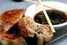 How to Make Asian Dumplings and Potstickers from Scratch. So Fun, Easy and Delicious!  parsleysagesweet.com   #dumplings #potstickers #pork ...