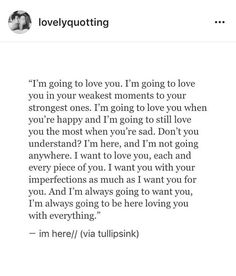 i'm always going to be here loving you but you're never going to be anywhere loving me. i want so badly to be done with you but for some damn reason i just can't.