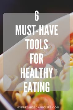 Tools for Eating Healthy