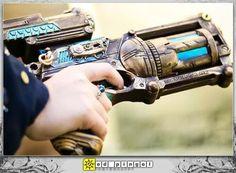 Nerf Steampunk Gun Nerf Maverick Steampunk Guns Are Mean