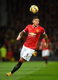 Marcos Rojo Photos: Manchester United v Chelsea - Premier League