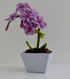 Sweet Felt  Purple Orchid. $35.00, via Etsy.