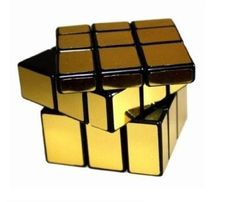Shengshou 3 X 3 Gold Mirror Cube Puzzle, 2015 Amazon Top Rated Brain Teasers #Toy