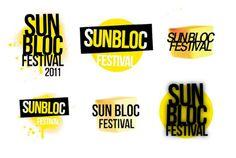 Sun Bloc Music Festival Logos, Hand Drawn Logo, Best Logo Design, Creative Logo, Cool Logo, Logo Design Inspiration, Inspire, Sun, Best Logo