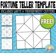 Make Your Own Cootie Catcher AKA Fortune Teller  Super Teacher