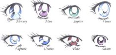 Sailor moon eyes- examples of different characteristics shown in one style. Sailor Moons, Sailor Moon Crystal, Arte Sailor Moon, Sailor Saturn, Manga Anime, Manga Eyes, Anime Eyes, Draw Eyes, Tuxedo Mask