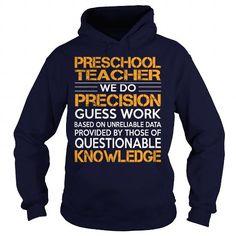 Awesome Tee For Preschool Teacher T-Shirts, Hoodies (36.99$ ==► Order Here!)