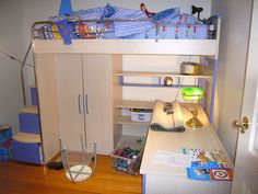 cool bunk space