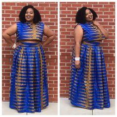 African print Clothing Ideas, Size Clothing, Maxi Skirt Outfits, Chloe Grace Moretz, Plus Size Beauty, Girl Blog, African Fashion, Plus Size Outfits, Plus Size Fashion