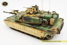 Abrams | 1:35 Scale