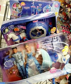 There sure will be a happy little girl on Christmas Morning! Shopping for Disney's Cinderella at Walmart #DisneyPrincessWMT #Cbias