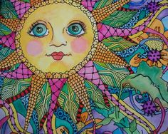 Love hippie art!