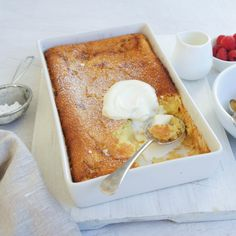 #RecipeoftheDay: Impossible Pudding by breet