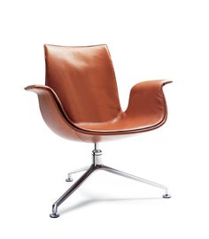 Jørgen Kastholm, Preben Fabricius, FK 86 Lounge chair, 1964. Re-edition by Walter Knoll, Germany