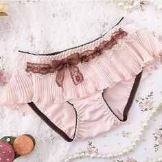 Buy 'XSIM – Pleated-Trim Lace-Up Panties' with Free International Shipping at YesStyle.com. Browse and shop for thousands of Asian fashion items from China and more!
