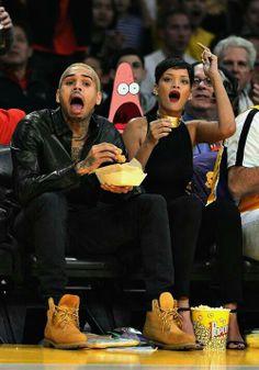Chris B, Rihanna, & Patrick :) Really Funny, The Funny, Surprised Patrick, Chris Brown And Rihanna, Chris Brown Videos, Rihanna Love, Patrick Star, It Goes On, Spongebob Squarepants