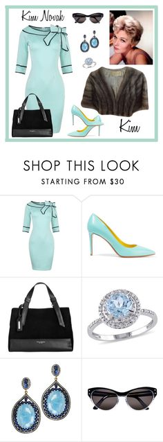 """Kim Novak"" by kimmie-plus2 on Polyvore featuring Nicholas Kirkwood, Tignanello, Modern Bride, Plukka and Selima Optique"