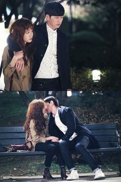 Cheese in the Trap....first kiss