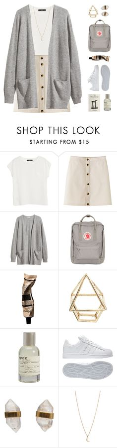 """""""she lays down"""" by nothing-like-the-rain ❤ liked on Polyvore featuring MANGO, H&M, Fjällräven, ASOS, Le Labo, adidas, Better Late Than Never and Minor Obsessions"""
