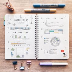 """10.4k Likes, 132 Comments - Kalon「notes & bujo」 (@nohnoh.studies) on Instagram: """"Layout ideas for workout or gym trackers! I decided to start carrying a mini journal with me…"""""""