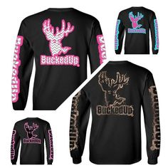 New T-shirt designs now available in short and long sleeve. Only available online at BuckedUpApparel.com  FINAL DAYS for FREE SHIPPING!! ALL ORDERS over $50 BUCKS!! #BuckedUp #mud #dirty #BuckedUp #hunting #deer #camo #country #monsterjam #countrygirl #pink #redneck #realtree #woods #backwoods #backroads #countrylife #hillbilly #outdoorsy #bonefire #trucks #outdoorsman #deerseason #bowhunting #outdoors #yeeyee #whatgetsyououtdoors #shedhunting #antlerswithattitude #mudding