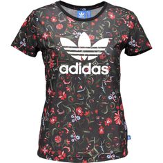 ADIDAS W TREFOIL TEE ❤ liked on Polyvore featuring tops, t-shirts, adidas tee, adidas t shirt, adidas and adidas tops