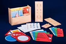 BoKaBox -Leermiddelen voor het leren van de verkeersborden.