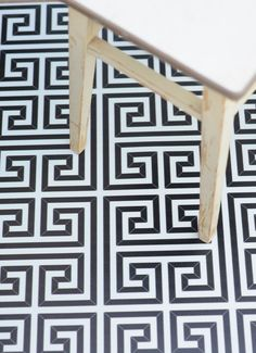 Beija Flor vinyl mats at black & white. Simply beautiful.