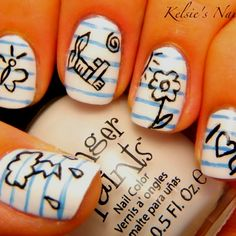 Awsome notebook nails