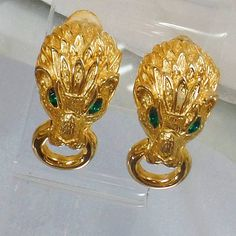 120 14k Gold Layered and Full of Details Vintage 1950/'s Big Flower Blossom Floral Gold Filled Screw on Earrings White Pearl Centers