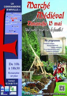 affiche Marché Médiéval